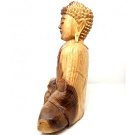 Buda de madera 40 cms. Dhyana mudra