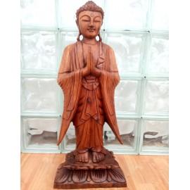 Buda de madera de pie 60 cms.