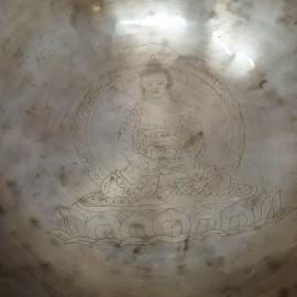 "Cuenco Full moon ""Amitabha"" 23 cms. 1,334 kgrs."