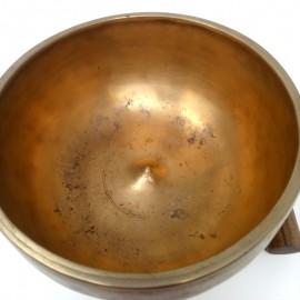 """Cuenco 7 metales antiguo """"Lingam""""- Mus25- 18 cms."""