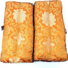 Cojín seda rectangular