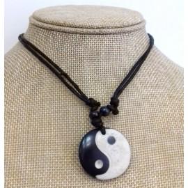 Colgante hueso yin yang (3 unidades)
